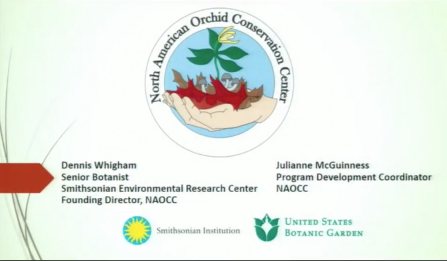 Screenshot from NAOCC's Collaborative Orchid Seed Storage Project video