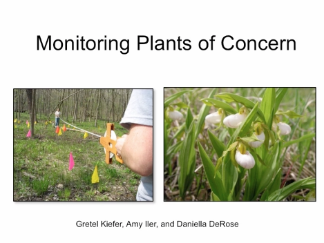 Screenshot of Monitoring Plants of Concern at Chicago Botanic garden video