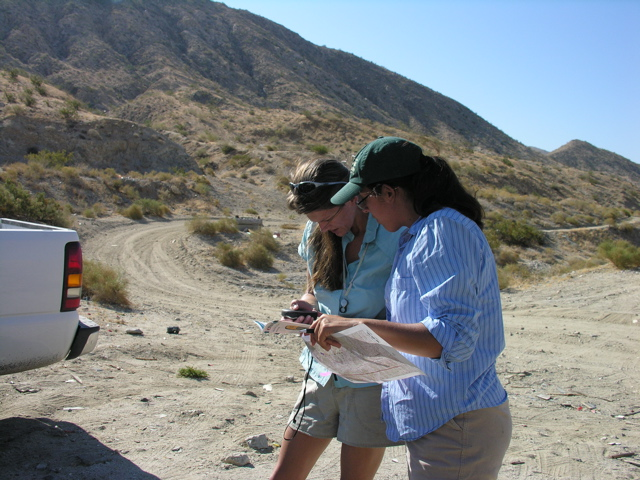 Naomi conducted field surveys with Tasha LaDoux in Joshua Tree National Park in 2006 as part of a larger CPC-National Parks program.