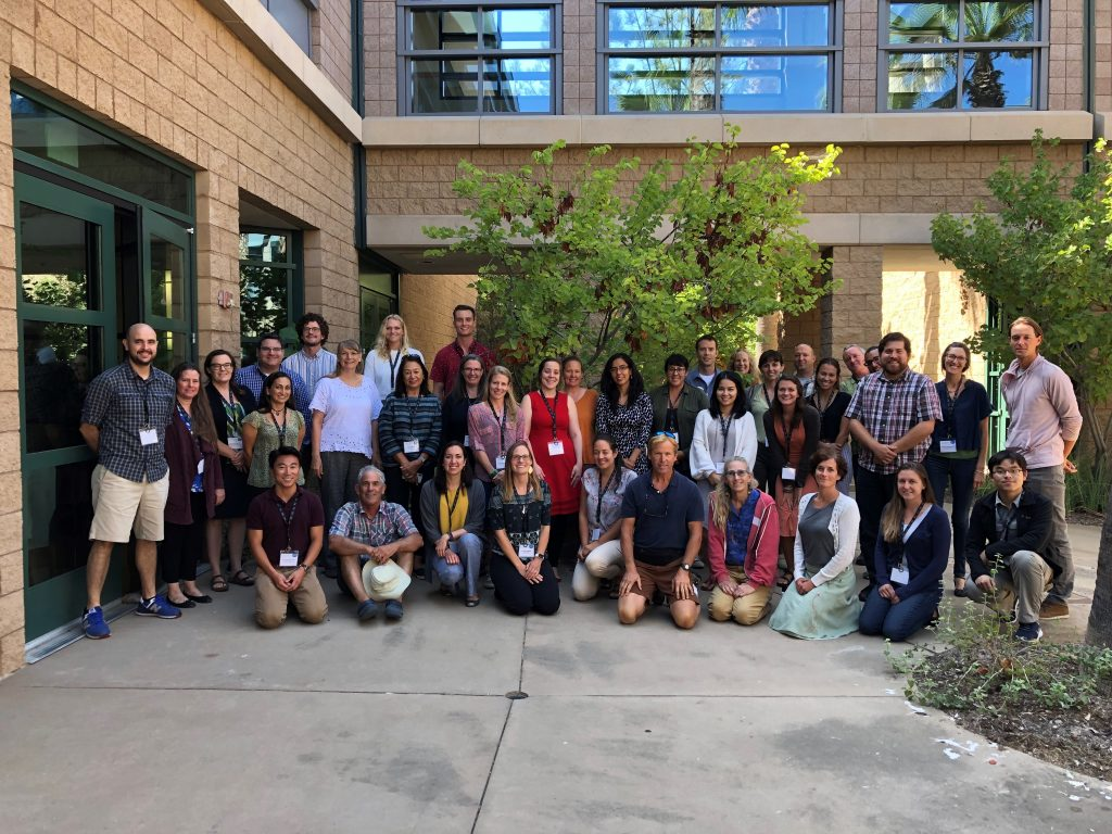 The Plant Conservation Genetics Workshop drew attendees from across the US.
