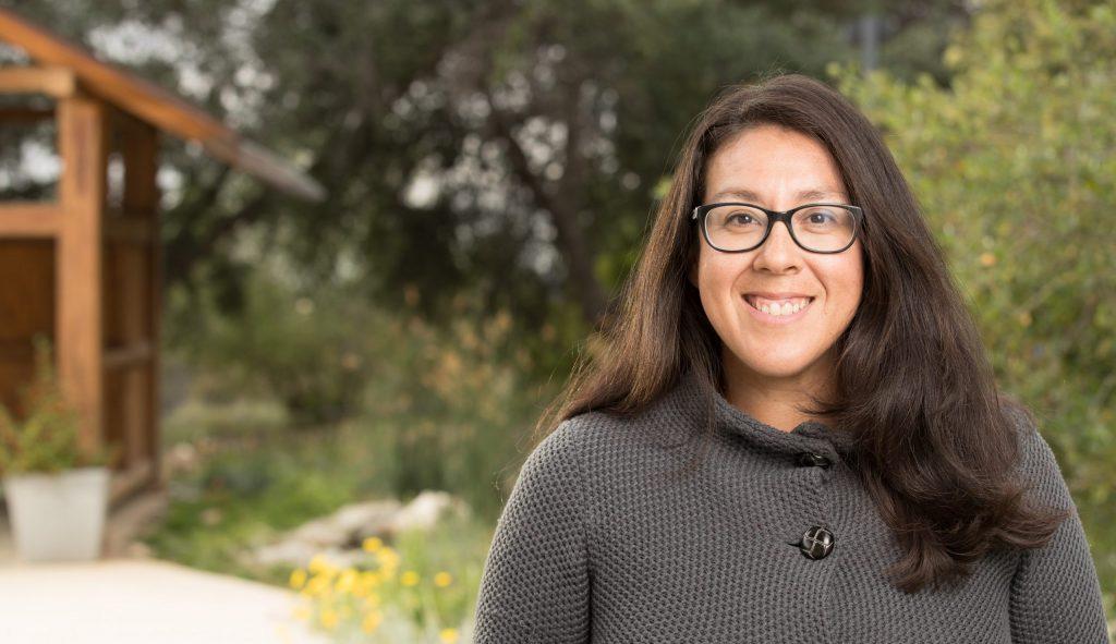 Naomi Fraga, Rancho Santa Ana Botanical Garden Director of Conservation Programs.