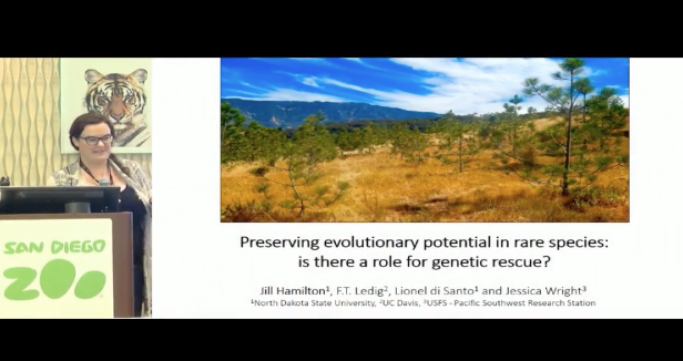 Screenshot of Preserving evolutionary potential in the face of rapidly changing conditions: the role of genetic rescue video