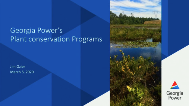 Screenshot of Plant Conservation Programs of the Georgia Power Company video.