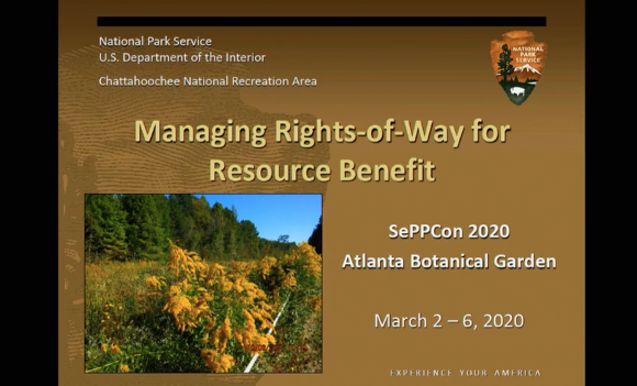 Screenshot of Managing Rights of Way for Resource Benefit video.