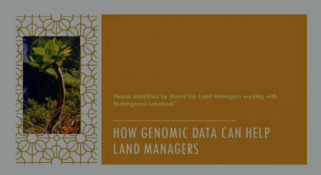 Screenshot of How Genomic Data Can Help Land Managers video