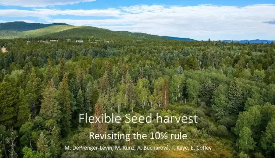 Screenshot of Flexible Seed Harvest video.