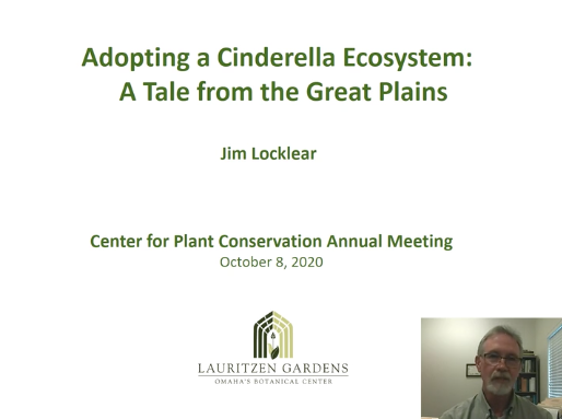 Screenshot from Adopting a Cinderella Ecosystem: A Tale from the Great Plains video