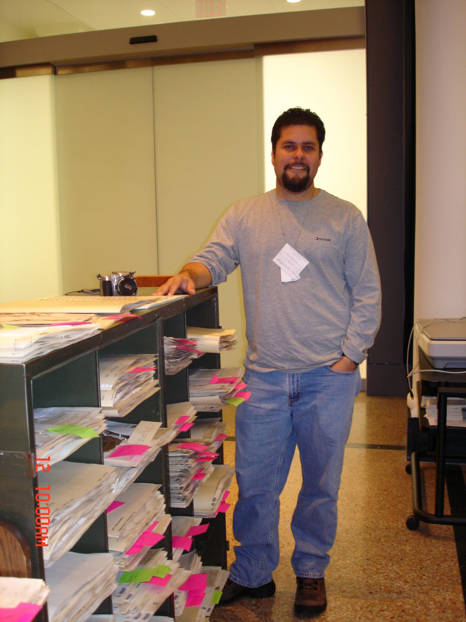While working with other graduated students doing research on federally listed species (O. rhodoxylon) or narrow endemics (Randia portoricensis) Omar collaborated on a project to digitize historical collections from Puerto Rico deposited at the New York Botanical Garden.
