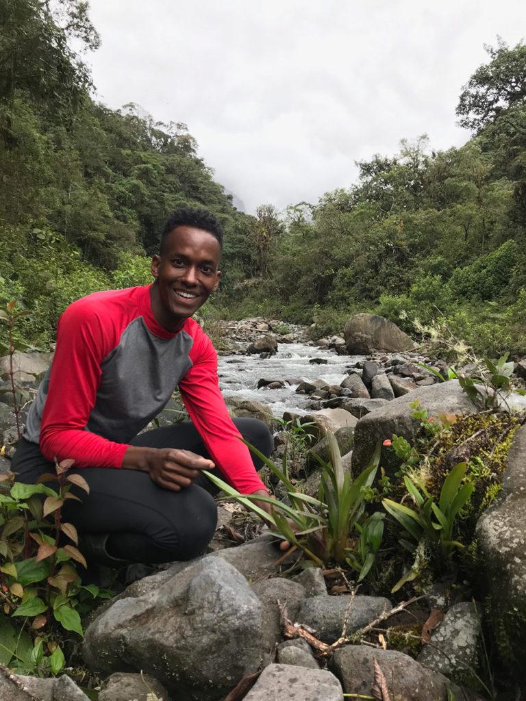 Photo Jason Ligon, Tissue Culture & Seed Bank Coordinator, Atlanta Botanical Garden 2019 Siempre Verde, Ecuador