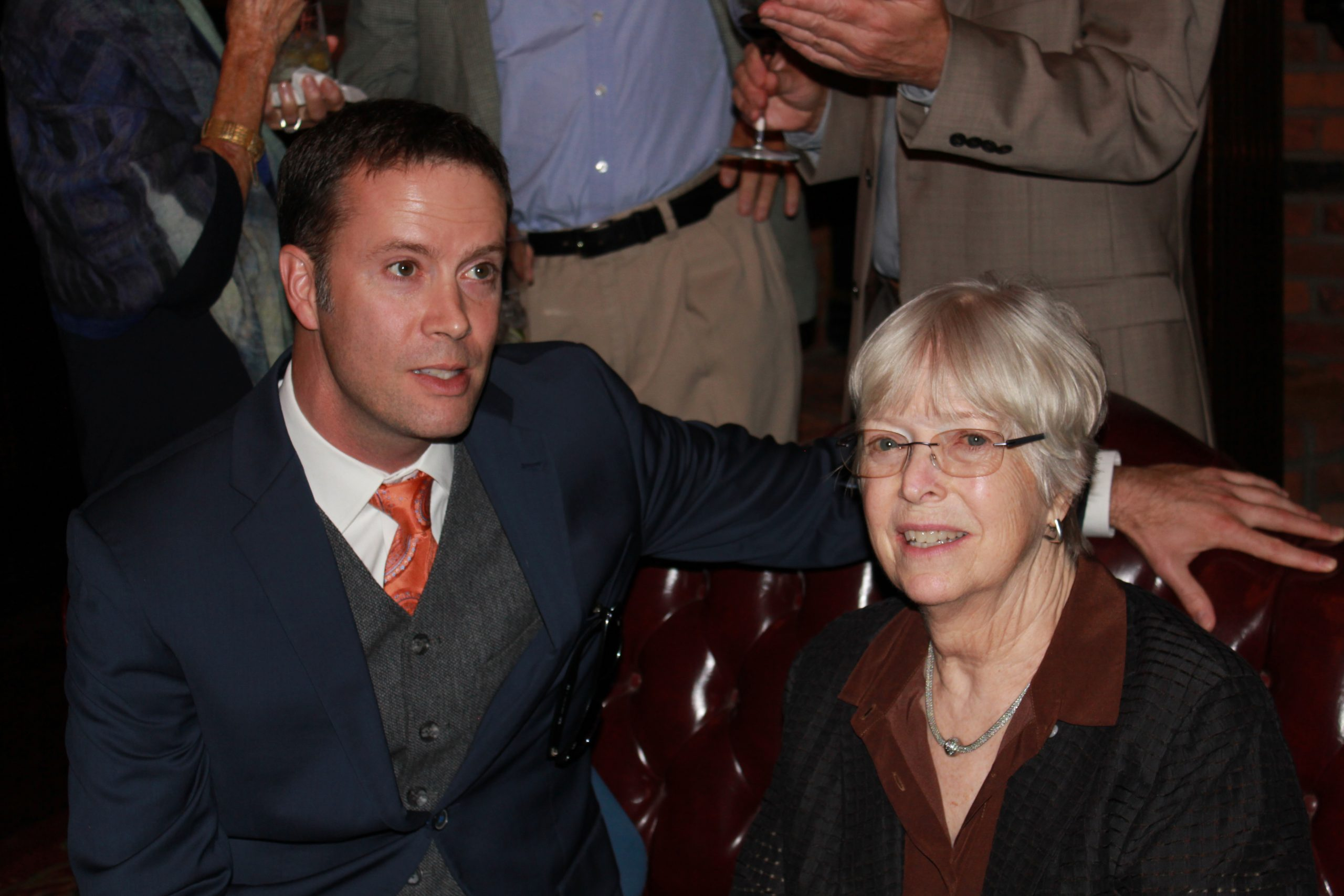 John Clark and Lynde Uihlein