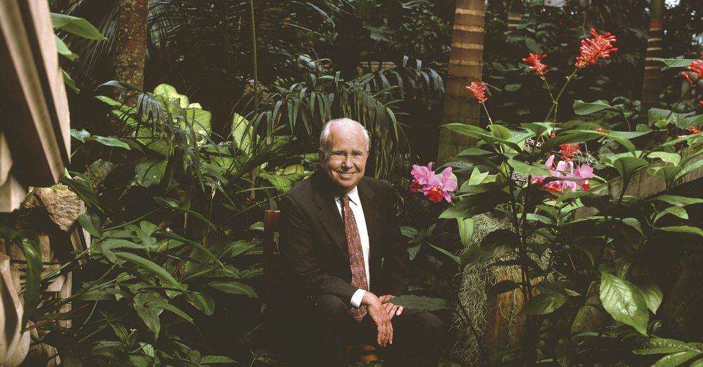 Dr. Peter Raven, courtesy of the Missouri Botanical Garden.