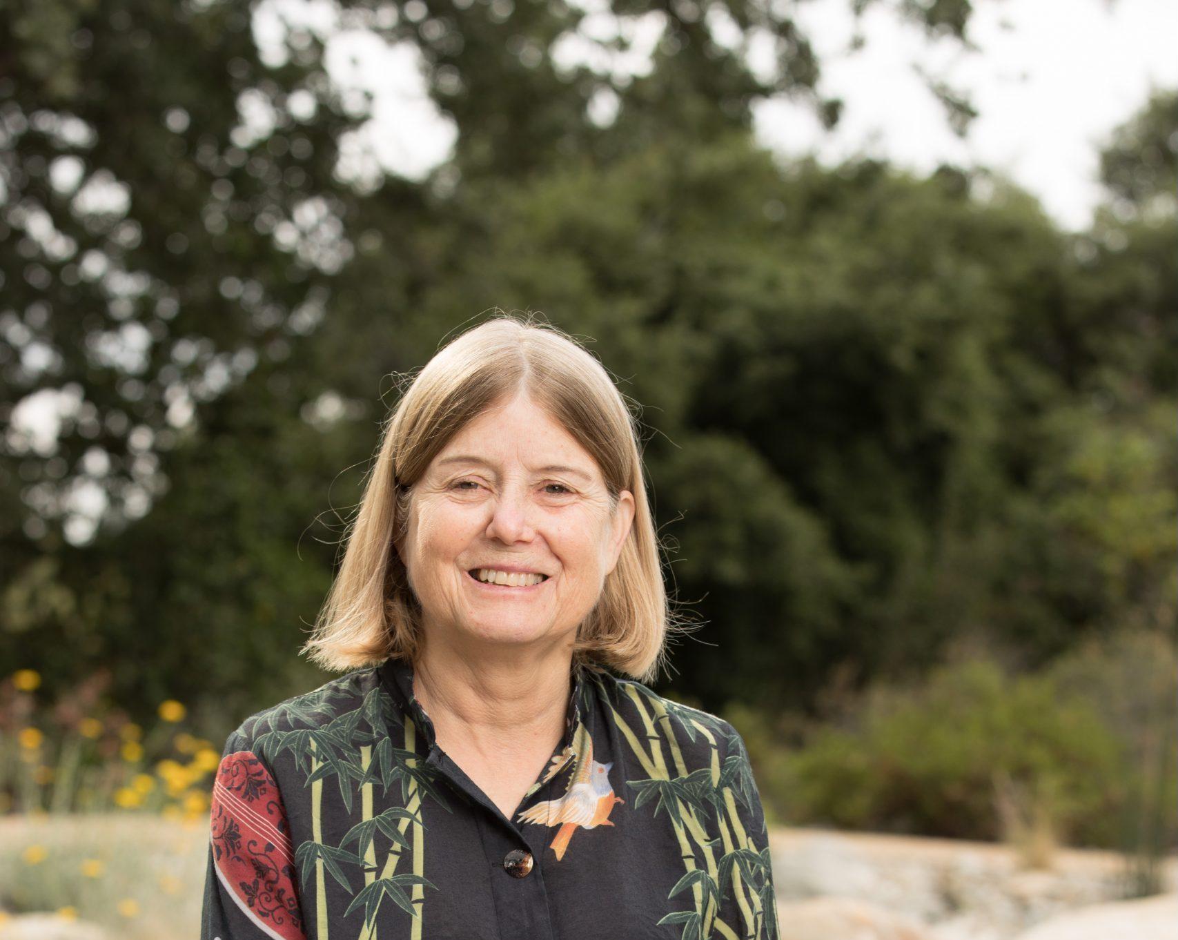Dr. Lucinda McDade, courtesy of the Rancho Santa Ana Botanic Garden.