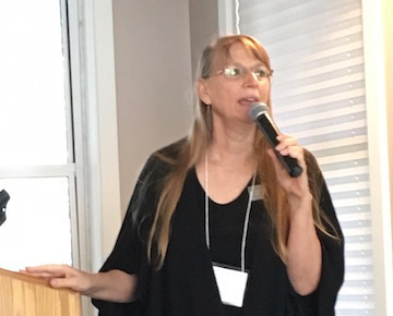 Image of Dr. Joyce Maschinski who led the brainstorming session on assessing challenges and opportunities of seed collections.