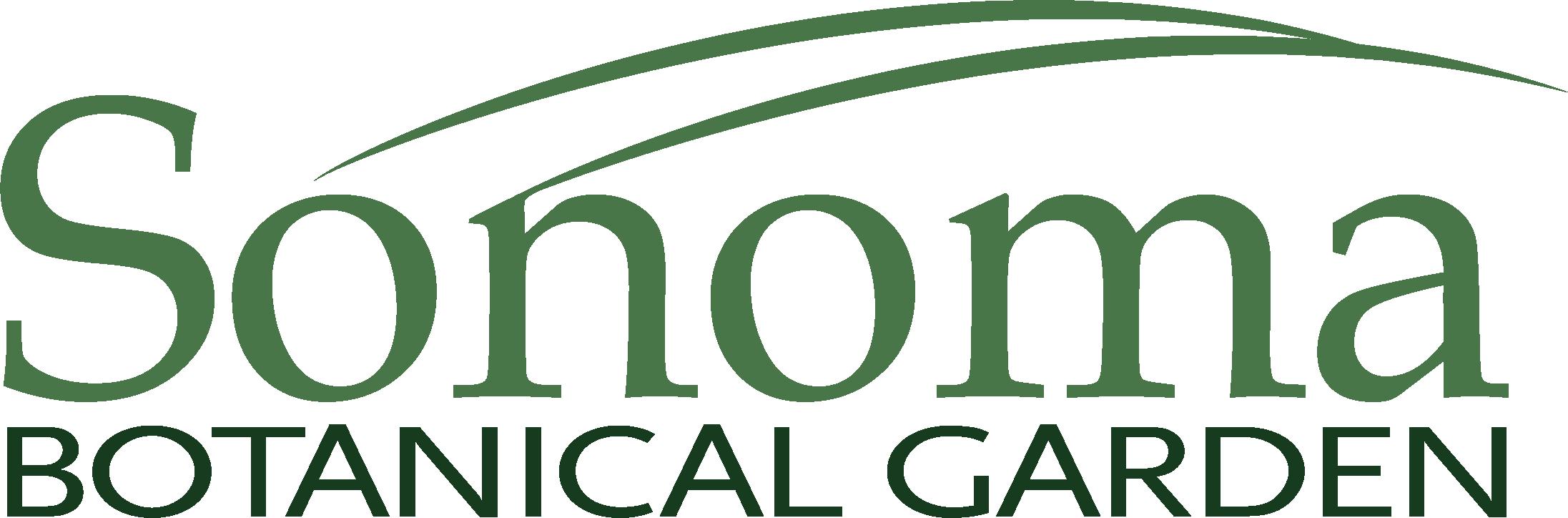 Sonoma Botanical Garden Logo
