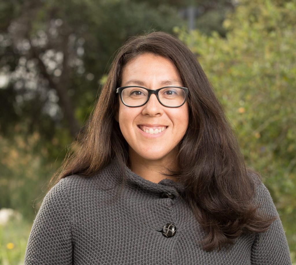 Image of Naomi Fraga, Rancho Santa Ana Botanical Garden Director of Conservation Programs. Photo courtesy of Rancho Santa Ana Botanic Garden
