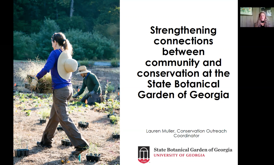 Screenshot from Strengthening Connections Between Community and Conservation