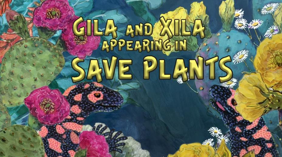 Screenshot of Save Plants featuring Xila and Gila