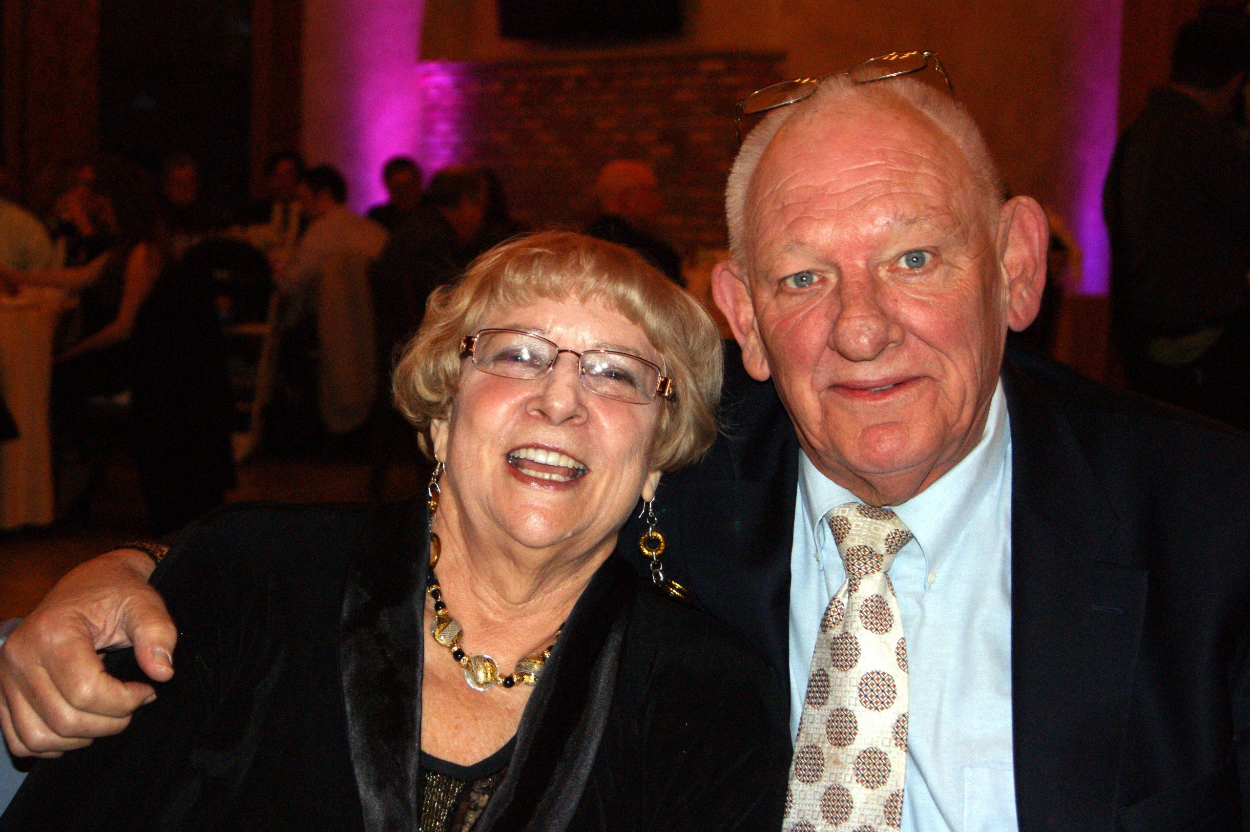 Susan and Jan Schmidt
