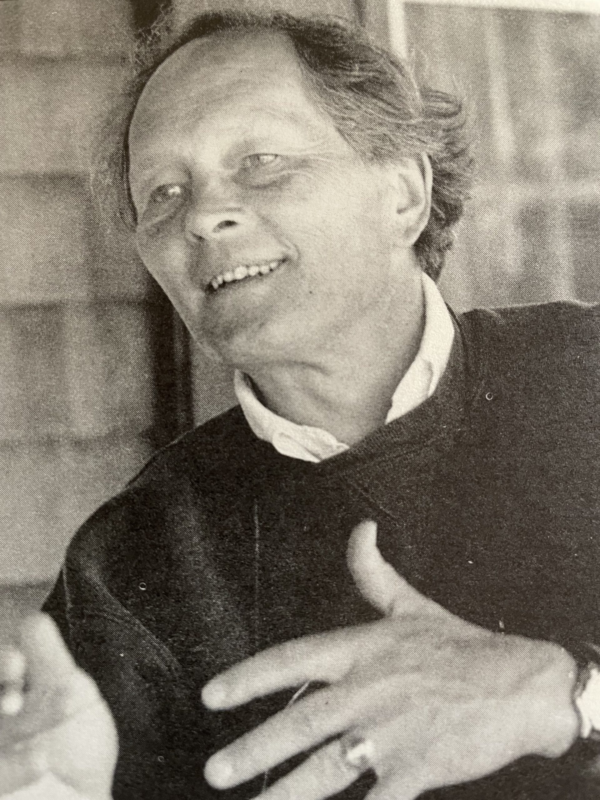 Image of Stephen Spongberg, first director of Polly Hill Arboretum, wrote the defining monograph on stewartia in the 1970's. His work proved seminal for PHA's involvement in stewartia collection work and partnerships into the 21st century.