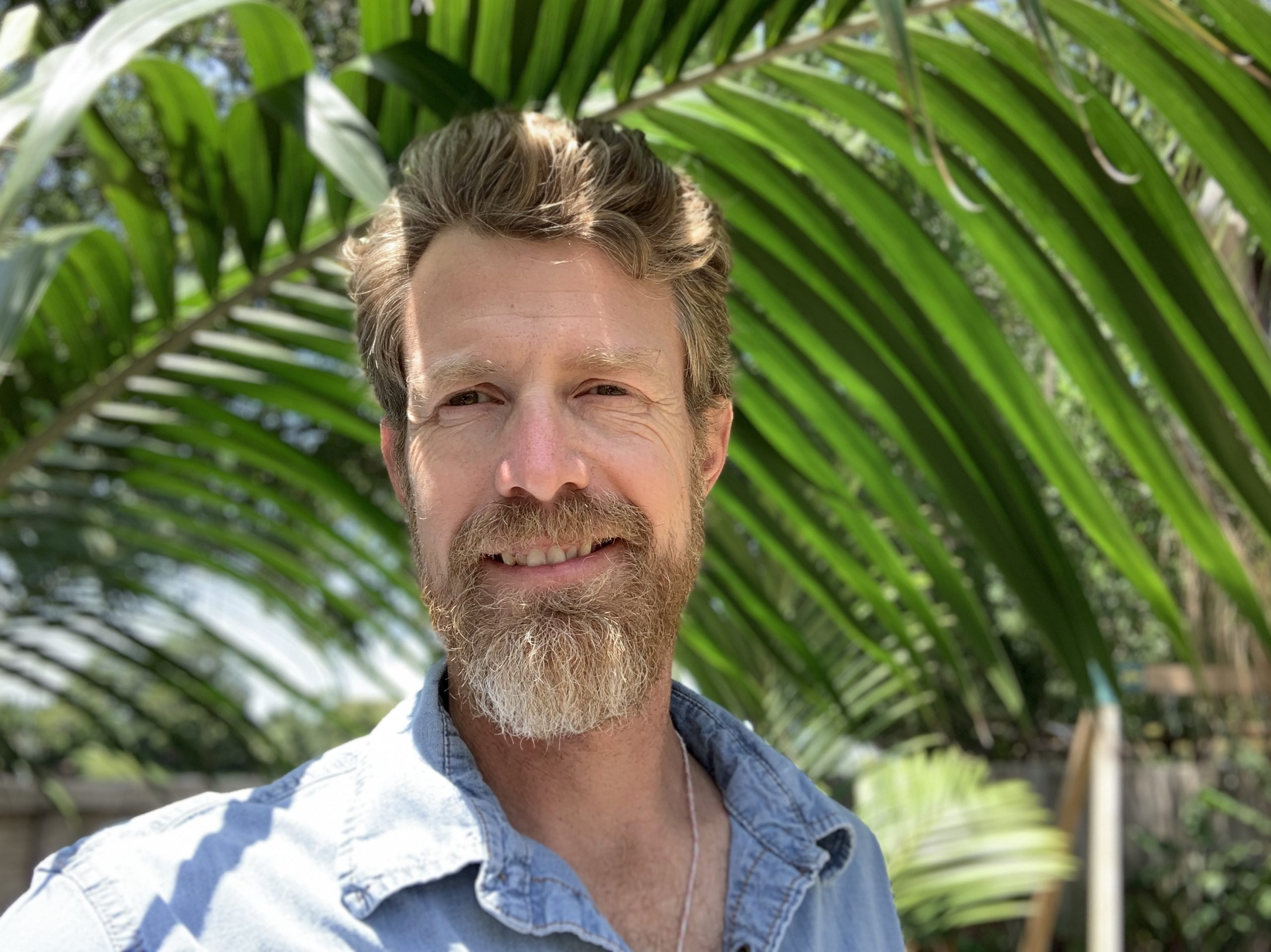 Chad Washburn, Vice President of Conservation at Naples Botanical Garden