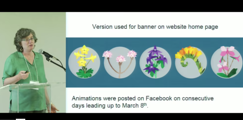 Screenshot of Outreach in Support of Plant Conservation video