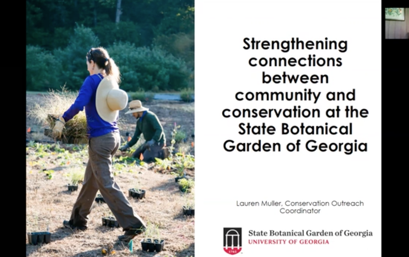 Screenshot of Strengthening Connections Between Community and Conservation video